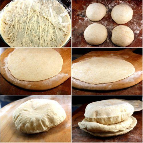 Baked Pita Breads