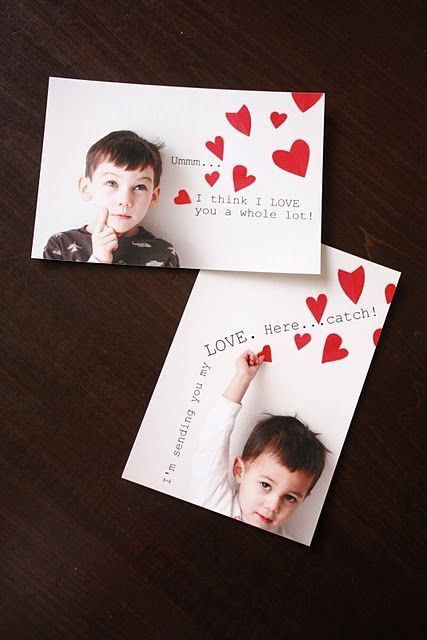 Valentine's Photo cards