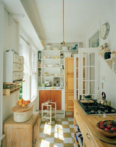 cute simple kitchen #interior #design #decorating #decor