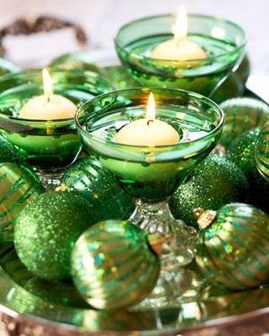 Green Christmas Decorations