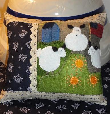 Free Wool Felt Applique Pattern Lena Patterns