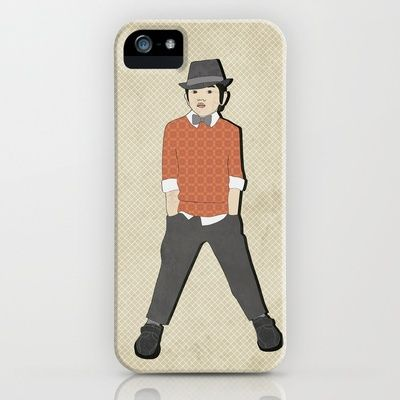 boys formal wear orange print iPhone & iPod Case by Aquamarine Studio - $35.00 Boy, Asian boy, youth, preteen, model, fashion, illustration, fashion design, sweater, bow tie, hat, shoes, pants, dress clothes, apparel, outfit, winter, wardrobe, digital, paper,