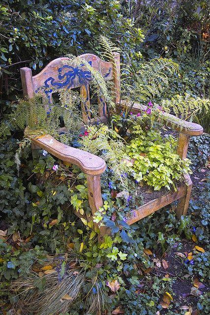 Nice chair garden.
