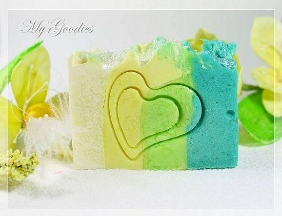 Cold Process Soap Ginkgo-Limette