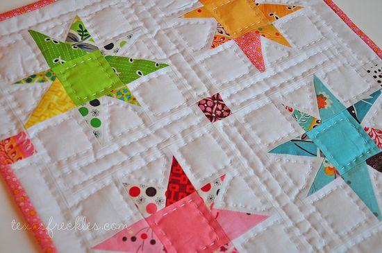 Flea Market Fancy mini quilt
