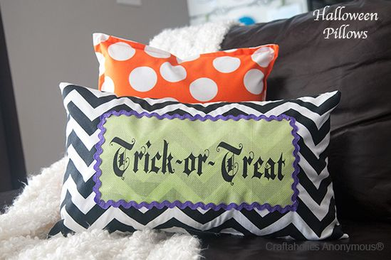 Spooky cute Halloween Pillows!