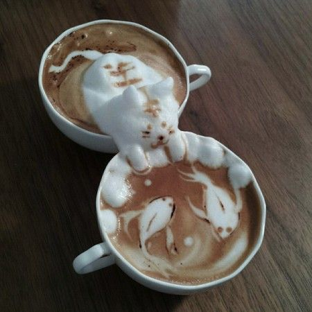 Latte 3D art