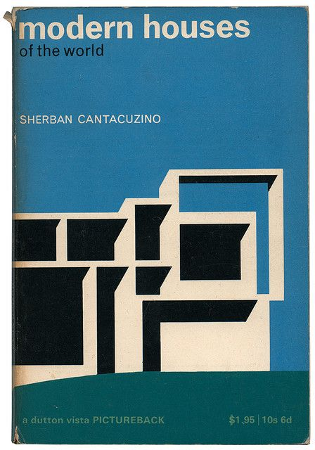 Modern Houses of the world; book cover.