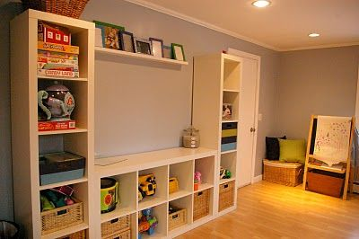I'd love to do this with the playroom/ guest room