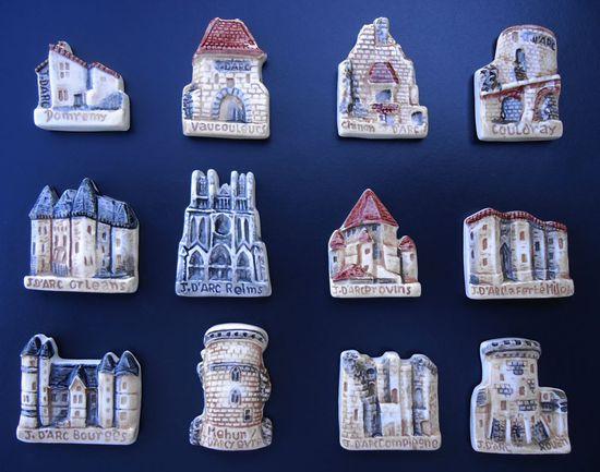 Fèves NEX - Collections. Castles