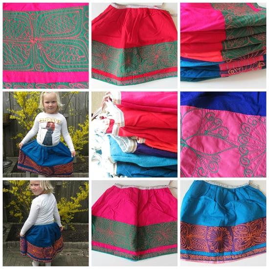 Rokjesdag, colourful fairtrade handmade skirts