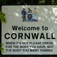 Meanwhile, in Cornwall ...