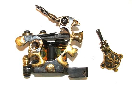 Handmade Tattoo Machine. Pirates Gold LINER