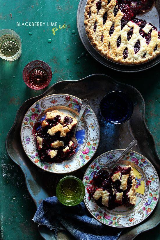 Blackberry Lime Pie