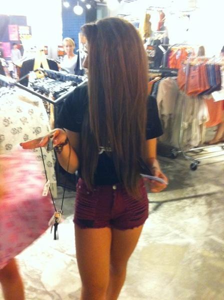 cute long brown hair