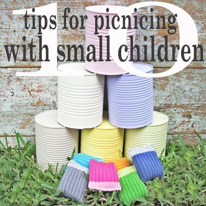 10 tips for easy picnics with Small Children