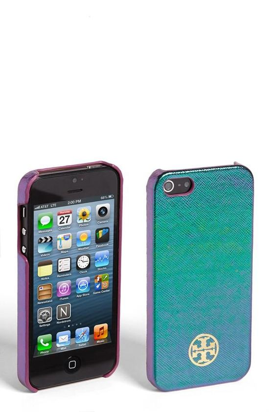 Stocking Stuffer - Tory Burch Hologram iPhone 5 Case