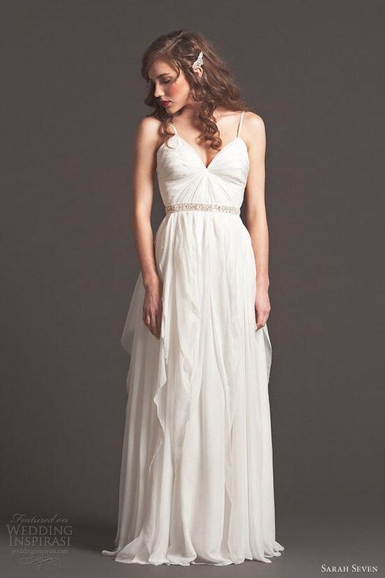 sarah seven wedding dresses fall 2013 bridal sincere gown