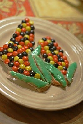 Indian corn cookies --like the real thing
