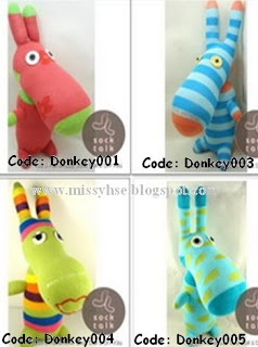 Missy House: Handmade Sock Stuffed Animal Toys