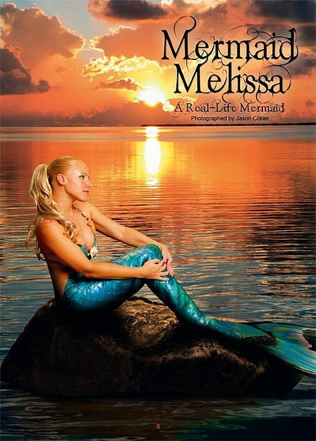Mermaid Melissa Real Life Mermaid by MermaidMelissa, via Flickr