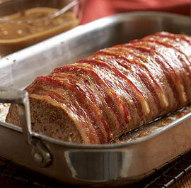 Bacon-Wrapped Meat Loaf