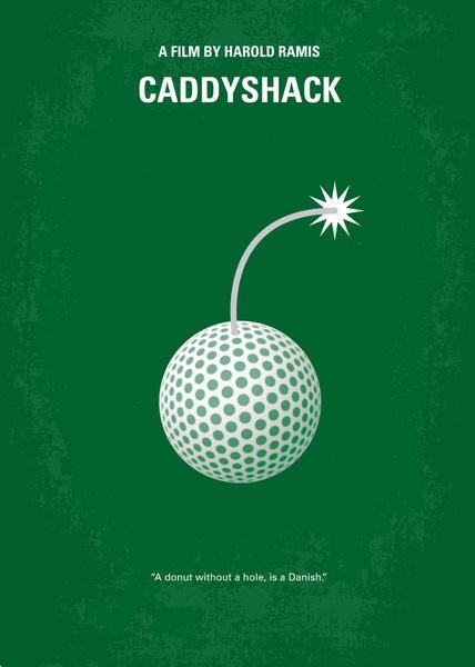 Minimalist Movie Poster - Caddyshack