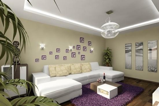 Colorful Modern Apartment Design.