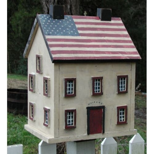 AMERICANA SHAKER BIRD HOUSE