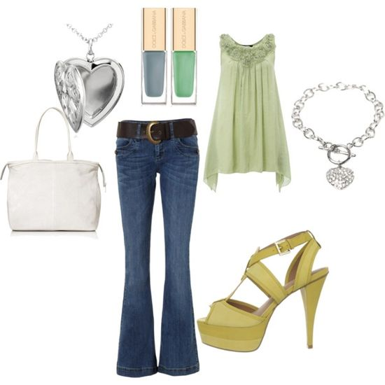 Mommy/Daughters date, created by mshenrique on Polyvore