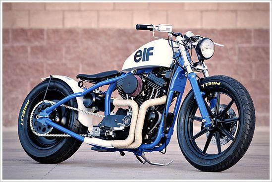 "DP Customs '95 Harley Sportster - ""del Rey"" - Pipeburn - Purveyors of Classic Motorcycles, Cafe Racers & Custom motorbikes - KdS!"