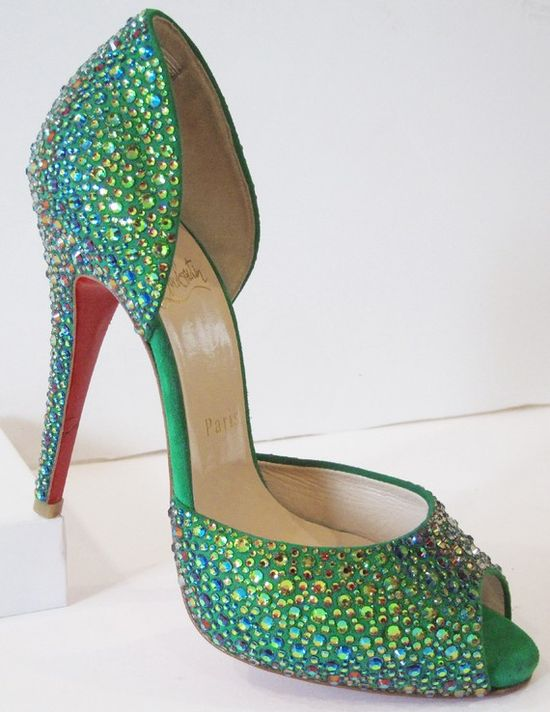 Who else? Louboutin!