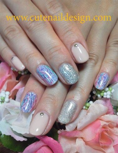 Simple Print nails - Nail Art Gallery by NAILS Magazine