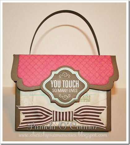 Tutorial for this purse with gift card set.