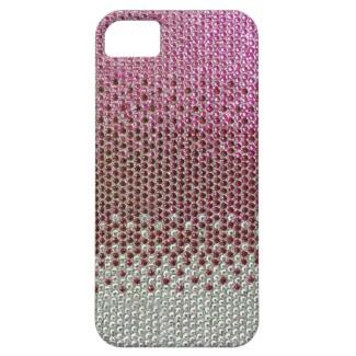 Pink Rhinestone Glitter Bling iPhone 5 Case