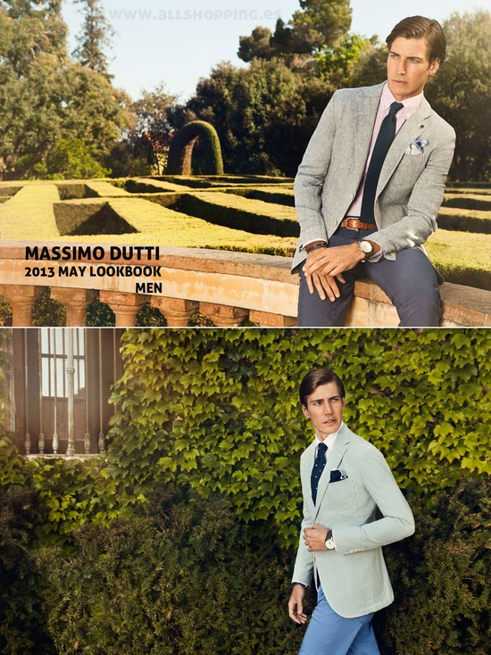 MassimoDutti -Lookbook de Mayo 2013 para Hombre-