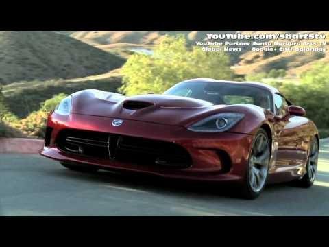 2013 Dodge SRT Viper GTS Luxury Sports Car Driving Video Global Auto News