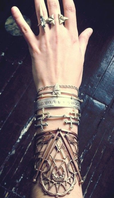 layered jewelry