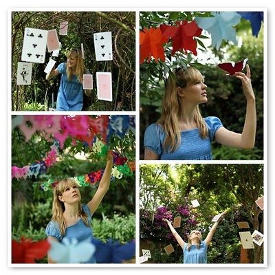 Alice in Wonderland Party theme DIY