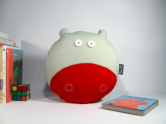Berth Handmade — PILLOW HYPE the hippo