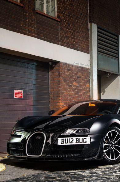 Badass Bugatti Veyron via carhoots.com