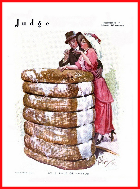 The December 1914 cover of Judge magazine. #vintage #Edwardian #magazines
