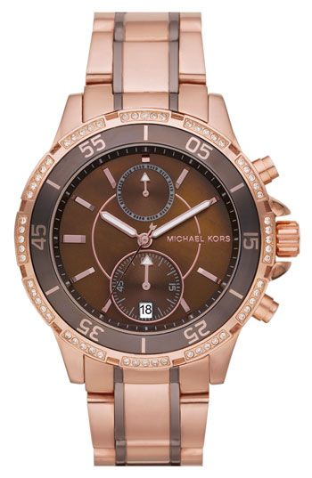 I need every Michael Kors watch in existence.