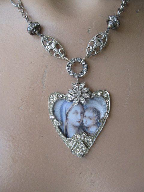 RESERVED FOR PAMELA Eternal Grace ... antique by OhMyGypsySoul, $92.00