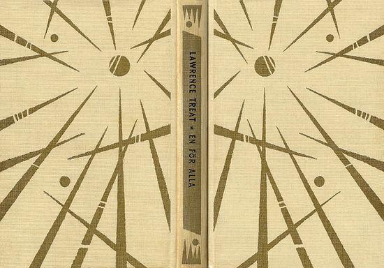 Lawrence Treat - En för alla  Printed in: 1958  Original title: Weep for a Wanton  Photo © AL / Book Cover Lover  www.bookcoverlove...