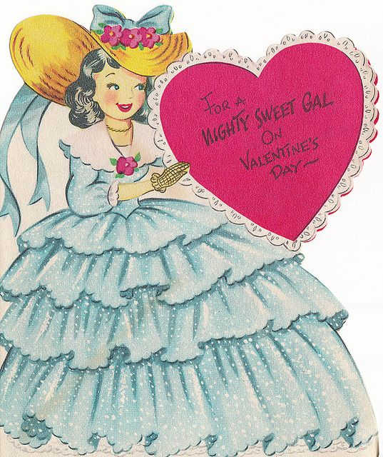 Vintage Greeting Card - Valentine by jerkingchicken, via Flickr