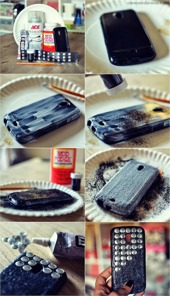 Glitter & Stud Your Phone Case