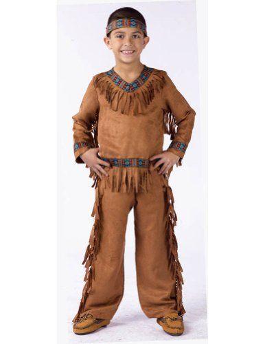 Funworld – American Indian Boy Child Lg Halloween « Clothing Impulse