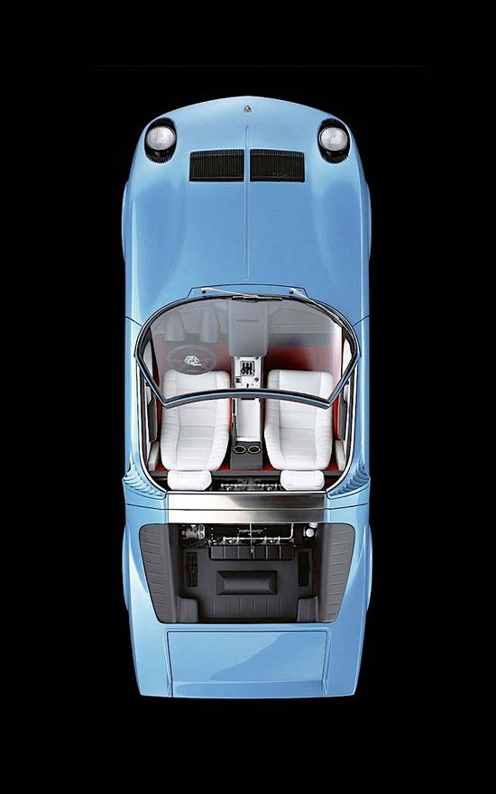 Lamborghini Miura Roadster // classic Italian car design