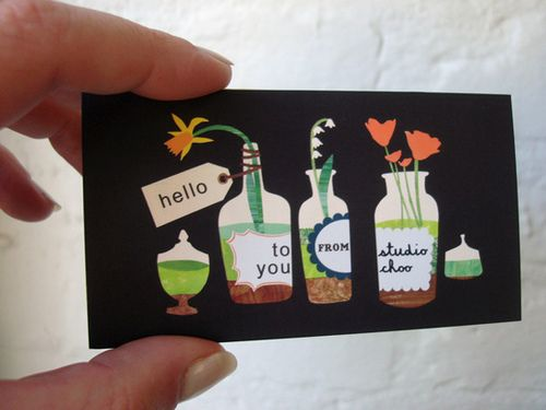 studio choo business card